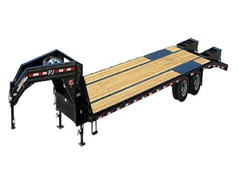 2020 PJ Trailers Low-Pro Flatdeck with Duals (LD) 35 ft. in Hillsboro, Wisconsin