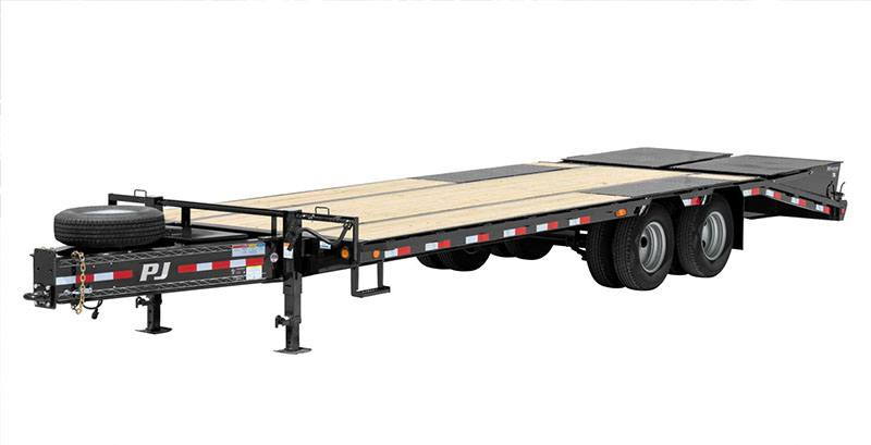 2019 PJ Trailers Low-Pro Pintle with Duals (PL) 42 ft. in Hillsboro, Wisconsin