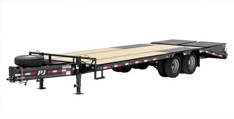 2019 PJ Trailers Low-Pro Pintle with Duals (PL) 24 ft. in Hillsboro, Wisconsin