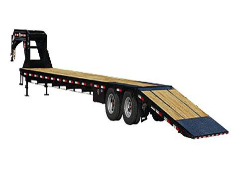 2020 PJ Trailers Low-Pro with Hydraulic Dove (LY) 30 ft. in Kansas City, Kansas