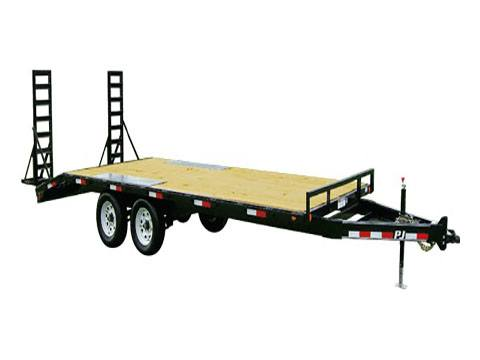 2020 PJ Trailers Medium Duty Deckover 6 in. Channel (L6) 20 ft. in Hillsboro, Wisconsin - Photo 1