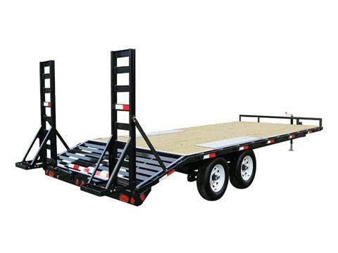2020 PJ Trailers Medium Duty Deckover 6 in. Channel (L6) 18 ft. in Kansas City, Kansas - Photo 2