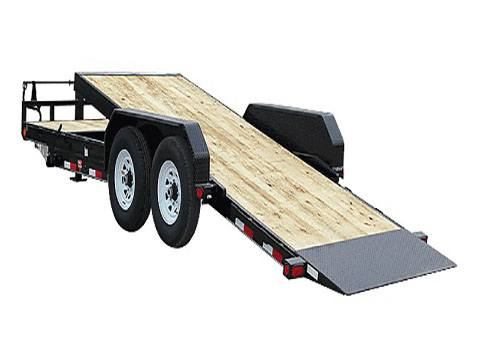 2020 PJ Trailers 6 in. Channel Equipment Tilt (T6) 16 ft. in Acampo, California