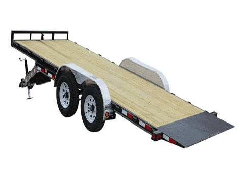 2019 PJ Trailers 83 in. Hydraulic Quick Tilt (TH) 18 ft. in Hillsboro, Wisconsin