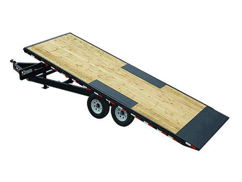 2019 PJ Trailers Deckover Tilt (T8) 24 ft. in Hillsboro, Wisconsin