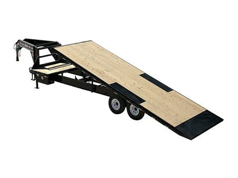 2019 PJ Trailers HD Deckover Tilt (T9) 30 ft. in Hillsboro, Wisconsin