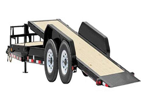 2020 PJ Trailers HD Equipment Tilt 6 in. Channel (TJ) 22 ft. in Hillsboro, Wisconsin