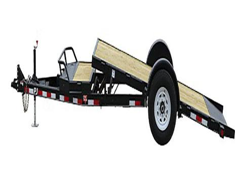 2020 PJ Trailers Single Axle HD Tilt (T1) 16 ft. in Hillsboro, Wisconsin - Photo 2