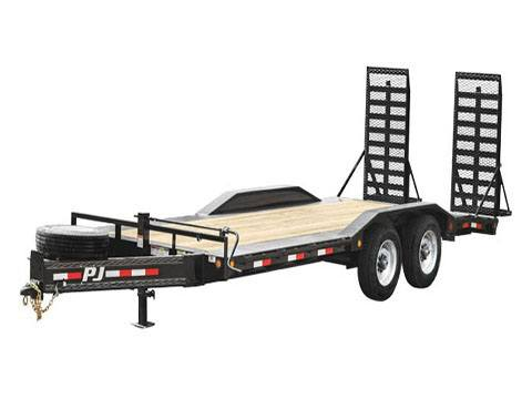 2019 PJ Trailers 10 in. Pro-Beam Super-Wide Equipment (H7) 24 ft. in Hillsboro, Wisconsin