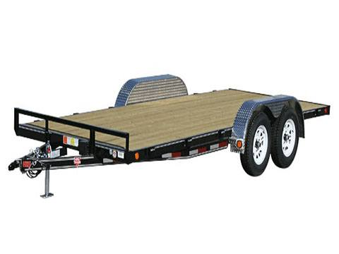2020 PJ Trailers 4 in. Channel Carhauler (C4) 14 ft. in Hillsboro, Wisconsin