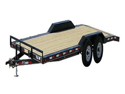 2020 PJ Trailers 5 in. Channel Buggy Hauler (B5) 16 ft. in Hillsboro, Wisconsin