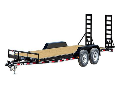 2020 PJ Trailers 5 in. Channel Equipment (CE) 16 ft. in Acampo, California