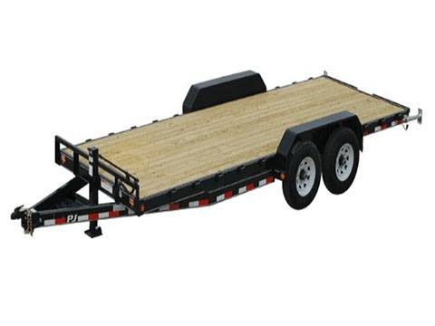 2019 PJ Trailers 6 in. Channel Equipment (CC) 24 ft. in Hillsboro, Wisconsin