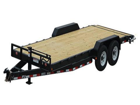 2020 PJ Trailers 8 in. Channel Equipment (C8) 18 ft. in Hillsboro, Wisconsin
