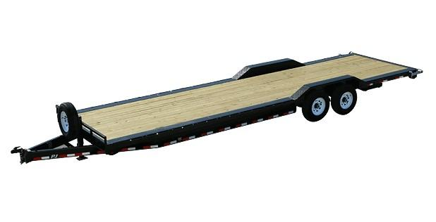 2020 PJ Trailers 8 in. Channel Super-Wide (B8) 24 ft. in Hillsboro, Wisconsin - Photo 1