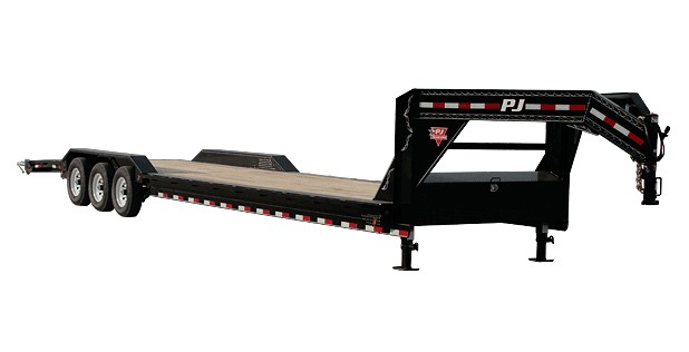 2019 PJ Trailers 8 in. Channel Super-Wide (B8) 34 ft. in Hillsboro, Wisconsin