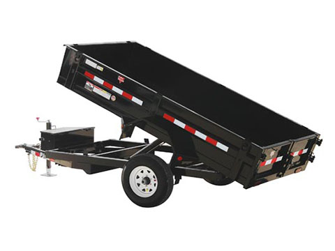 2019 PJ Trailers 60 in. Utility Dump (D5) 10 ft. in Hillsboro, Wisconsin