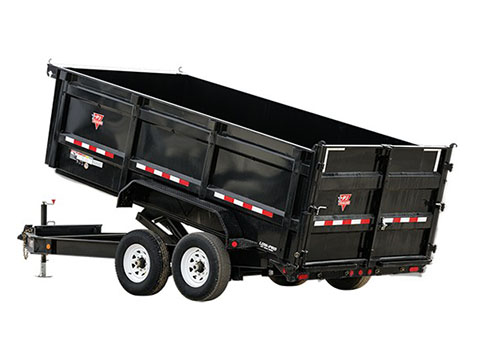 2020 PJ Trailers 83 in. Low-Pro High Side Dump (DM) 16 ft. in Hillsboro, Wisconsin