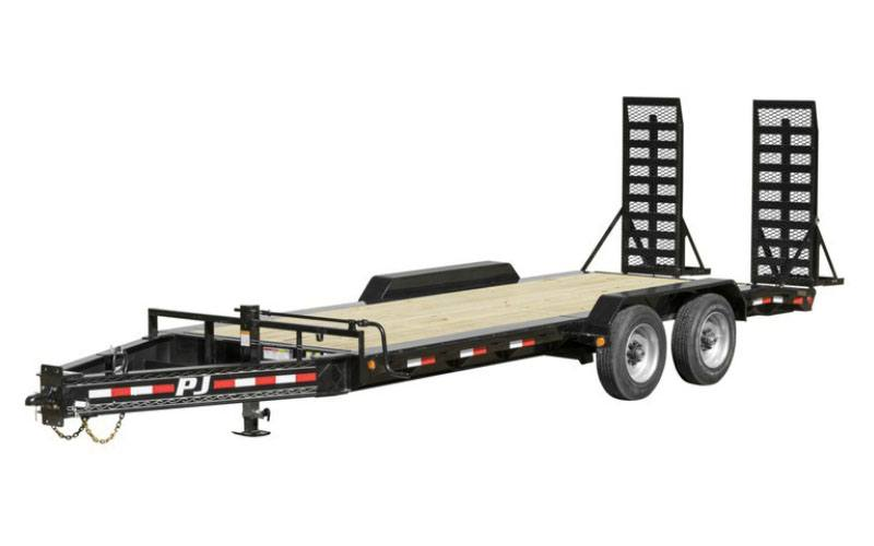 2021 PJ Trailers 10 in. Pro-Beam Equipment (H5) 20 ft. in Hillsboro, Wisconsin
