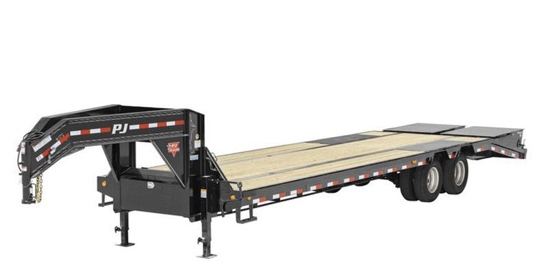 2021 PJ Trailers 14 in. I-Beam Low-Pro with Duals (L3) 24 ft. in Hillsboro, Wisconsin