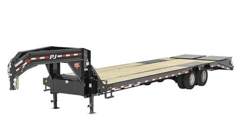 2021 PJ Trailers 14 in. I-Beam Low-Pro with Duals (L3) 30 ft. in Hillsboro, Wisconsin