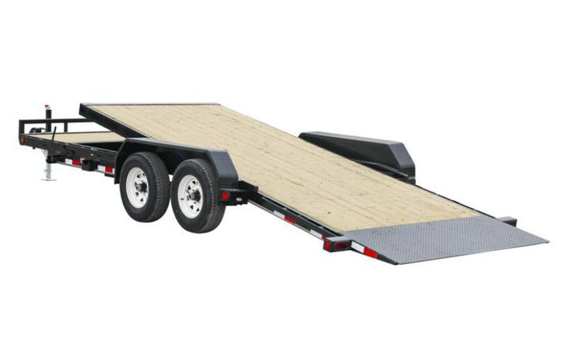 2021 PJ Trailers 5 in. Channel Tilt Carhauler (T5) 22 ft. in Hillsboro, Wisconsin