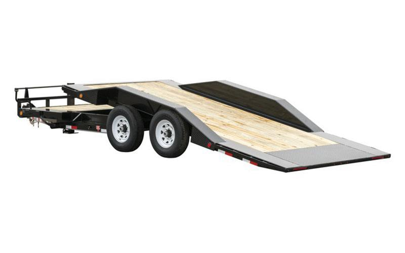 2021 PJ Trailers 6 in. Channel Super-Wide Tilt (TS) 22 ft. in Hillsboro, Wisconsin