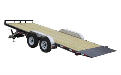 2021 PJ Trailers 83 in. Hydraulic Quick Tilt (TH) 18 ft. in Hillsboro, Wisconsin
