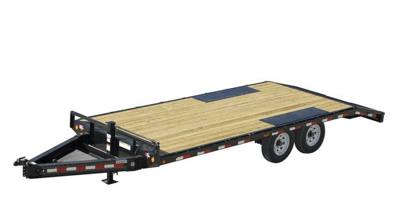 2021 PJ Trailers 8 in. I-Beam Deckover (F8) 24 ft. in Kansas City, Kansas