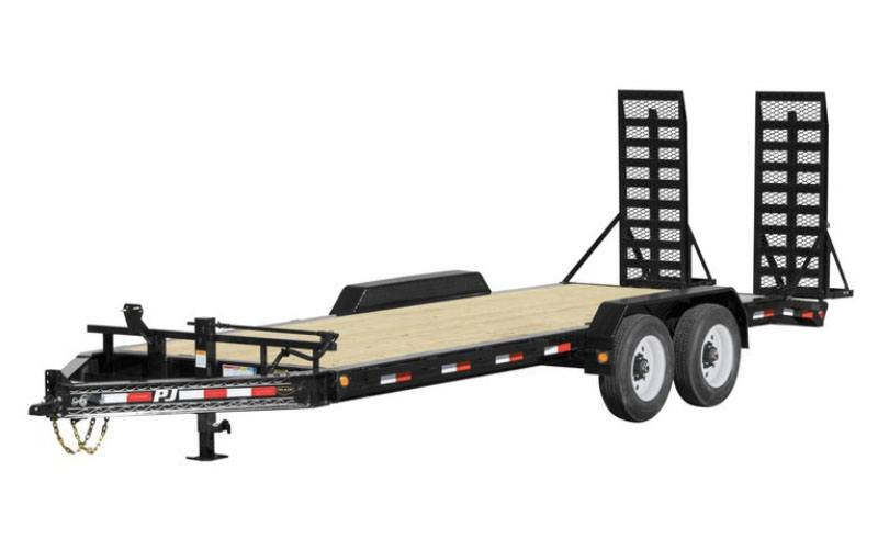 2021 PJ Trailers 8 in. Pro-Beam Equipment (H4) 24 ft. in Hillsboro, Wisconsin