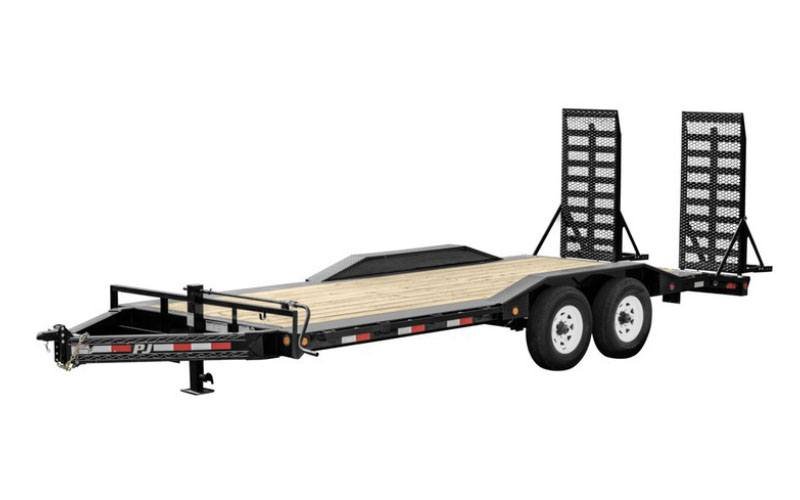 2021 PJ Trailers 8 in. Pro-Beam Super-Wide Equipment (H6) 24 ft. in Montezuma, Kansas