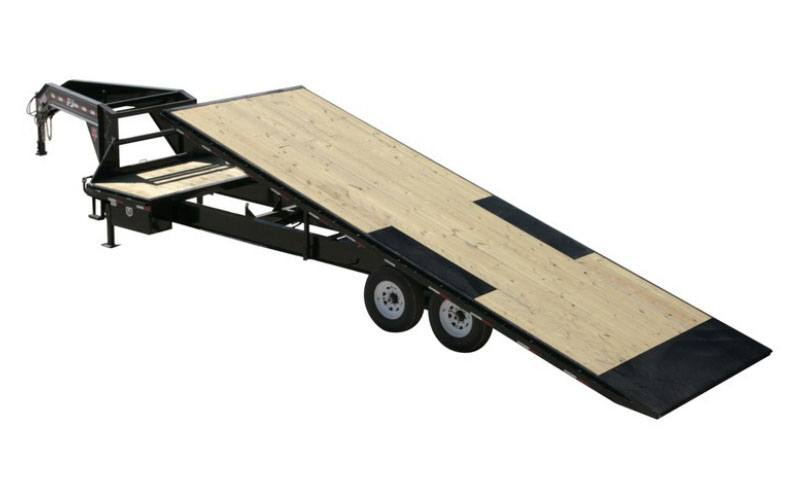 2021 PJ Trailers HD Deckover Tilt (T9) 32 ft. in Hillsboro, Wisconsin