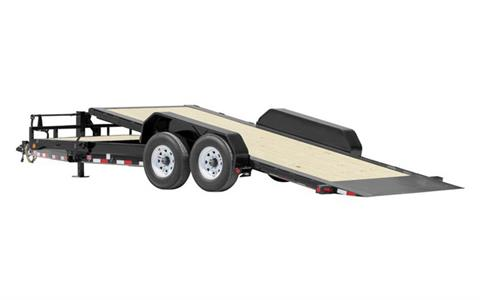 2021 PJ Trailers HD Equipment Tilt 6 in. Channel (TJ) 18 ft. in Hillsboro, Wisconsin