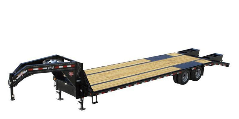 2021 PJ Trailers Low-Pro Flatdeck with Duals (LD) 32 ft. in Elk Grove, California