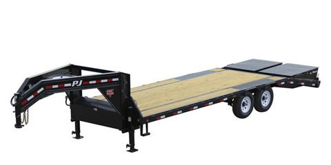 2021 PJ Trailers Low-Pro Flatdeck with Singles (LS) 25 ft. in Hillsboro, Wisconsin