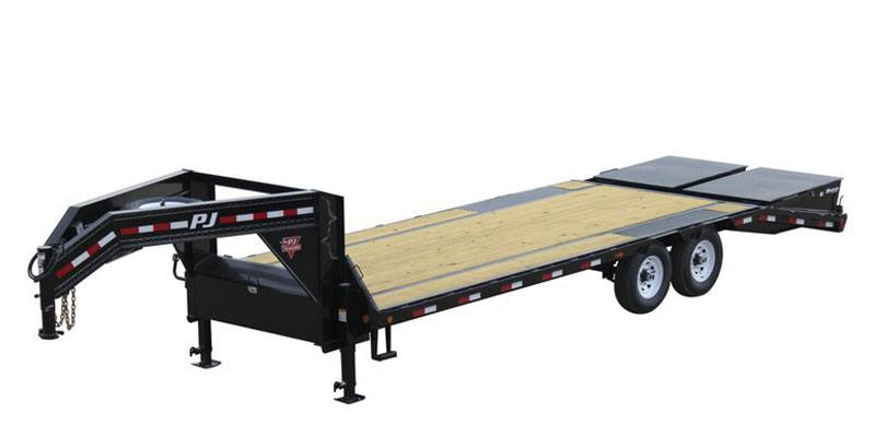 2021 PJ Trailers Low-Pro Flatdeck with Singles (LS) 32 ft. in Kansas City, Kansas