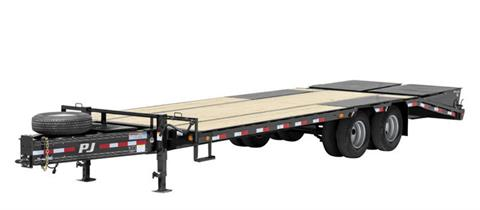 2021 PJ Trailers Low-Pro Pintle with Duals (PL) 24 ft. in Hillsboro, Wisconsin