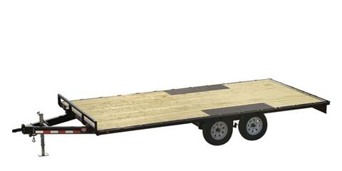 2021 PJ Trailers Medium Duty Deckover 6 in. Channel (L6) 20 ft. in Hillsboro, Wisconsin
