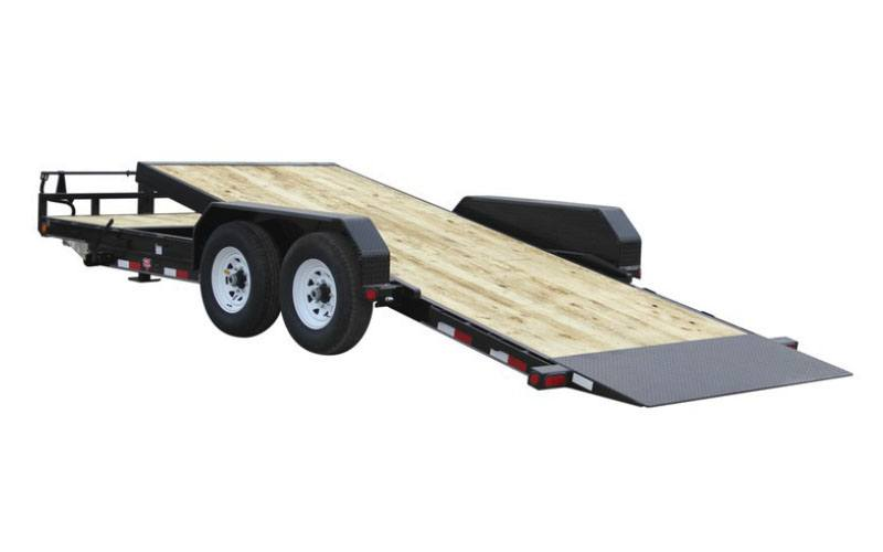2021 PJ Trailers 6 in. Channel Equipment Tilt (T6) 18 ft. in Hillsboro, Wisconsin