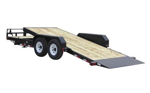 2021 PJ Trailers 6 in. Channel Equipment Tilt (T6) 24 ft. in Hillsboro, Wisconsin