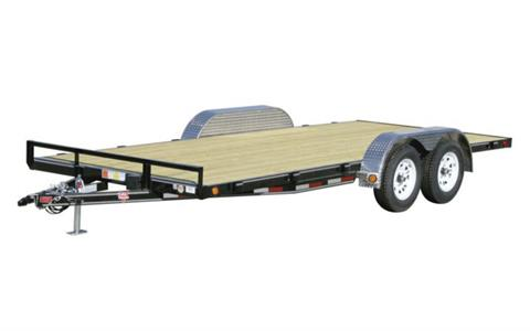 2021 PJ Trailers 4 in. Channel Carhauler (C4) 16 ft. in Hillsboro, Wisconsin