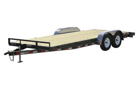2021 PJ Trailers 5 in. Channel Carhauler (C5) 16 ft. in Hillsboro, Wisconsin