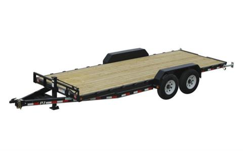 2021 PJ Trailers 6 in. Channel Equipment (CC) 22 ft. in Hillsboro, Wisconsin