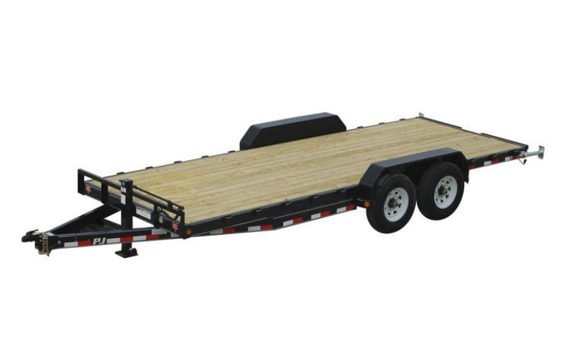 2021 PJ Trailers 6 in. Channel Equipment (CC) 24 ft. in Hillsboro, Wisconsin