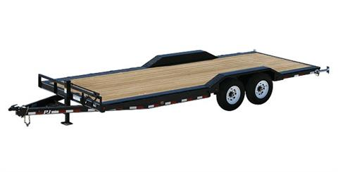 2021 PJ Trailers 6 in. Channel Super-Wide (B6) 18 ft. in Hillsboro, Wisconsin