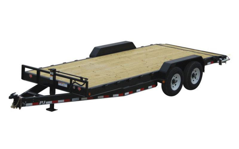 2021 PJ Trailers 8 in. Channel Equipment (C8) 24 ft. in Hillsboro, Wisconsin