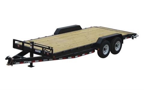 2021 PJ Trailers 8 in. Channel Equipment (C8) 28 ft. in Hillsboro, Wisconsin