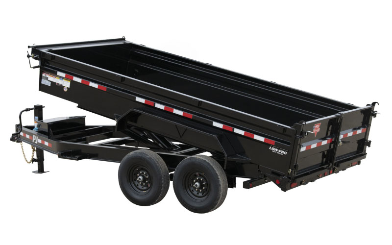2021 PJ Trailers 14K Low-Profile Dump PRO (DL) 12 ft. in Elk Grove, California