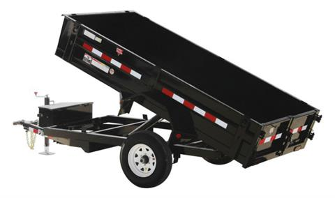 2021 PJ Trailers 60 in. Utility Dump (D5) 8 ft. in Hillsboro, Wisconsin