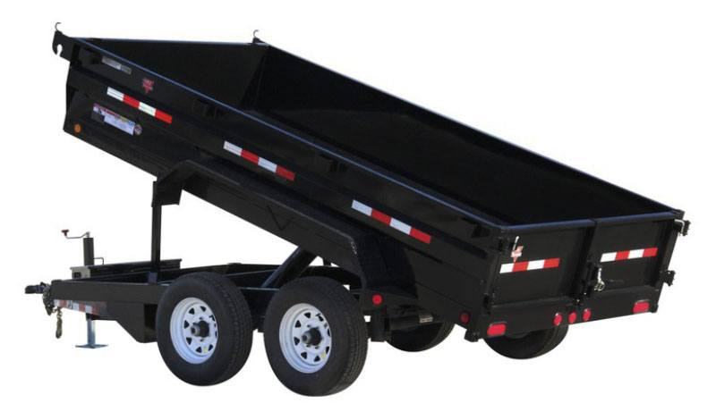 2021 PJ Trailers 72 in. Tandem Axle Dump (D3) 10 ft. in Acampo, California